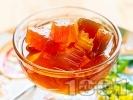 Рецепта Рачел от тиква с гасена вар и глюкоза (зимнина в бурканчета)